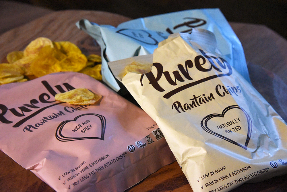 Purely Plantain Chips