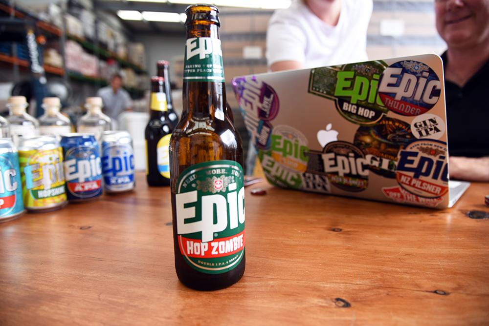 Epic Beer Hop Zombie