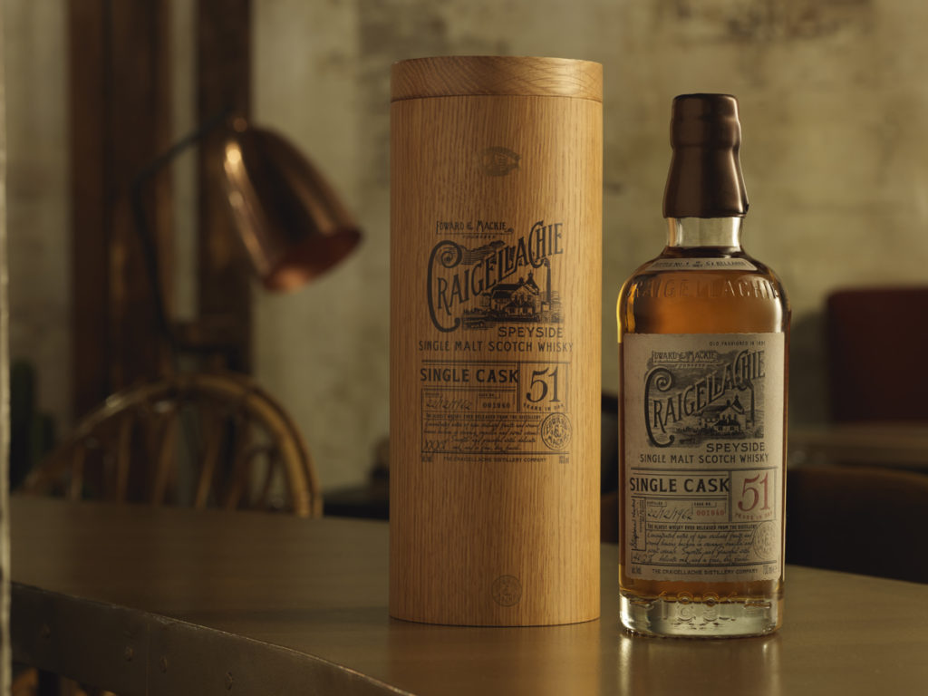 Craigellachie Gives Away 51-Year-Old Whisky
