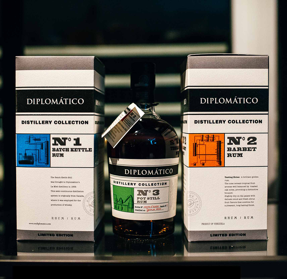 Diplomático Rum Distillery Collection No.3 Launch event